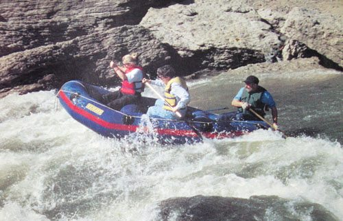 Day Trips: Rafting along the Vermillion River